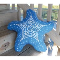 Starfish Shaped Indoor/Outdoor Pillow