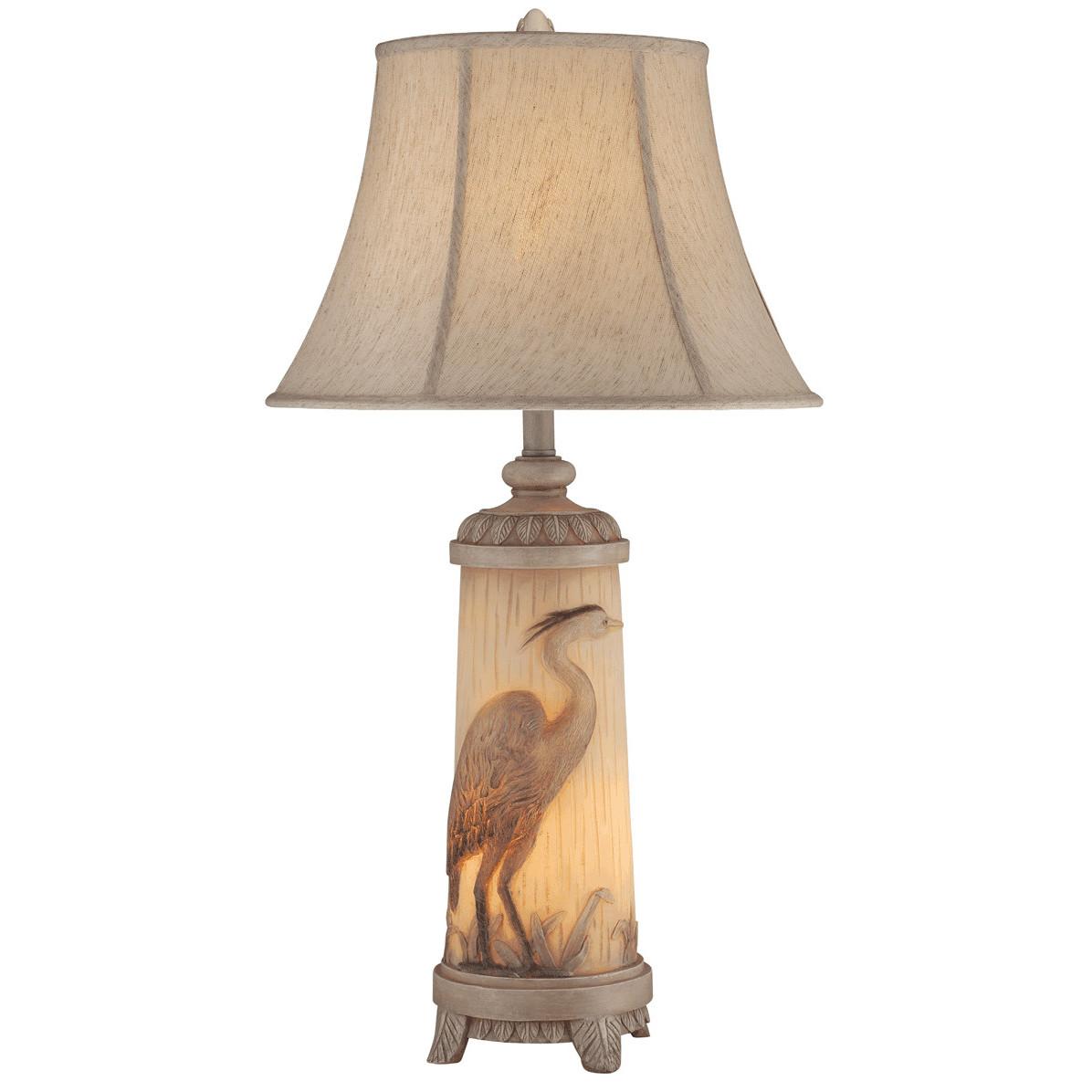 Heron Night Light Table Lamp