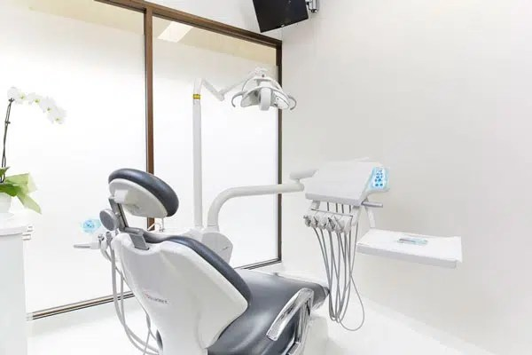 a dental chair in our Mona Vale dental clinic