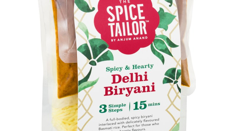 The Spice Tailor introduces another tasty meal option with their new Biryani range