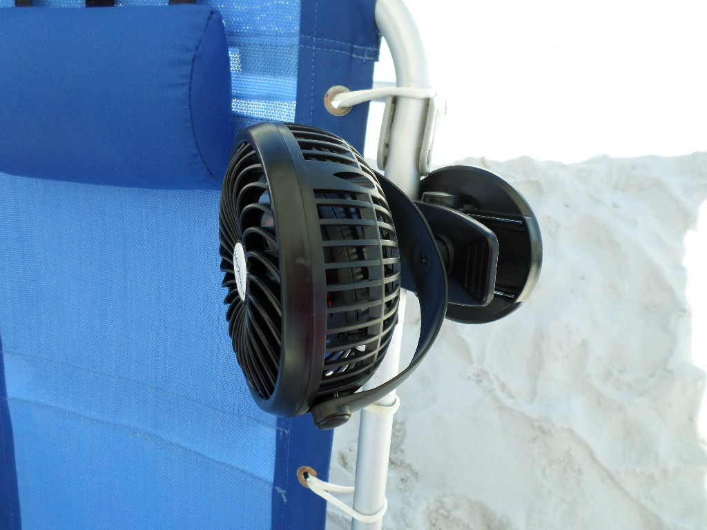beach chair accessories power recliner parts clamp on umbrella extra storage
