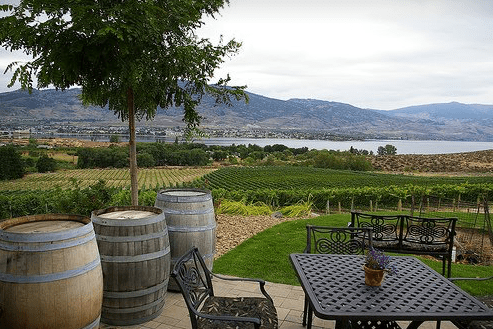 Nk'mip Patio Restaurant for you next stay at the Beach House Osoyoos vacation rental