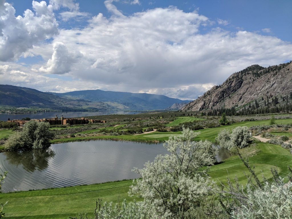 Nk'mip Desert Golf Course when staying at Beach House Osoyoos Vacation Rental