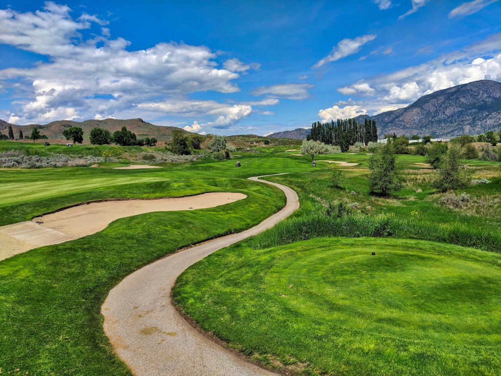 Osoyoos Golf Course stay at Beach House Osoyoos airbnb