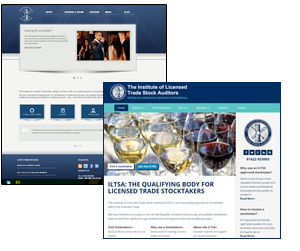 ILTSA website, before and after