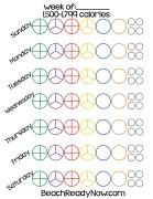 21-Day Fix Printable Tally Sheets #Fitness #21DayFix #BeachReadyNow