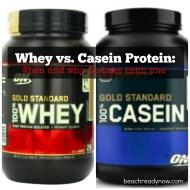 Powder Protein: Whey vs. Casein