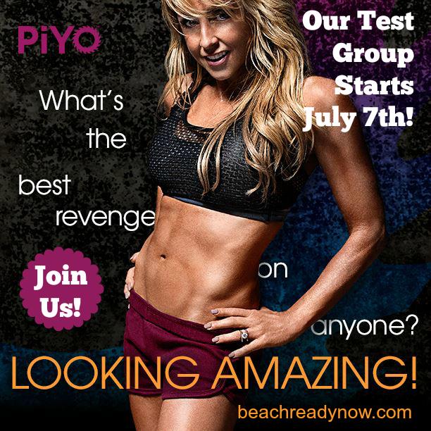 Piyo Challenge Group #BeachReadyNow