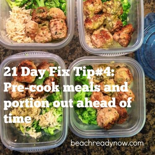 21 Day Fix Tip 4