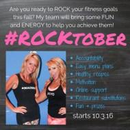 #ROCKtober Challenge Group
