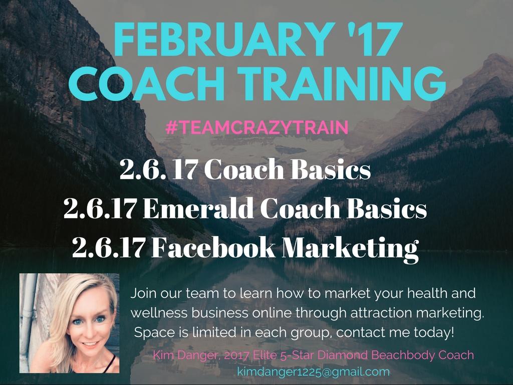 February Coach Training