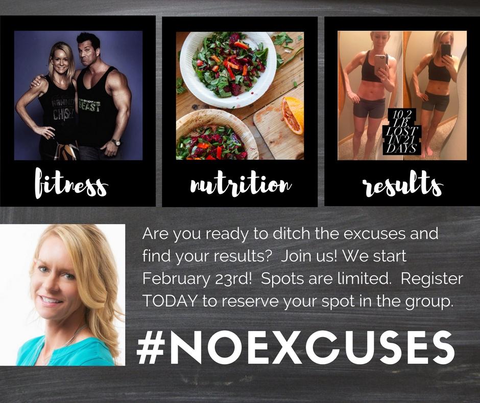 #NOEXCUSES Challenge