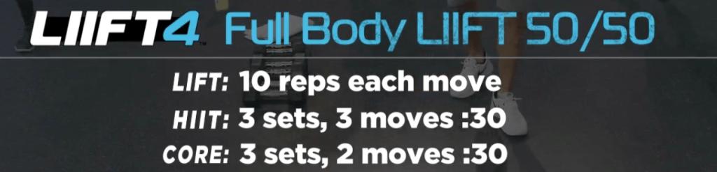 LIIFT 4 Sneak Peek Workout