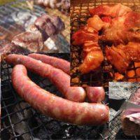 お肉の七輪アウトドア料理レシピ一覧