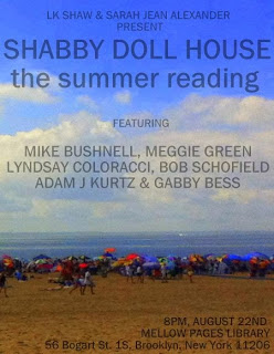 SHABBY DOLL HOUSE READING at Mellow Pages Library