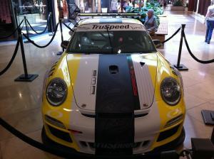 TruSpeed Motorsports Car at South Coast Plaza