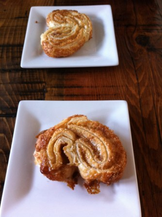 Palmiers from the Trokay Cafe