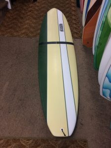 No Wax Surfboard fun board style by Rockin Fig Surf