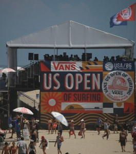 Media Tent At Skate Comp Vans US Open Of Surfing - Copyright 2017 Scott Bourquin