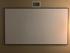 Elite Aeon Screen - Part of the Easy Home Theater System