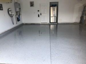 Epoxy Garage Floor Done