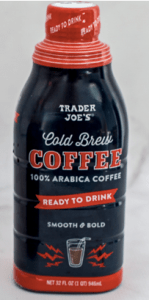 Trader Joe's ready to Drink Cold Brew