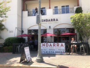 Indarra restaurant re-opens.