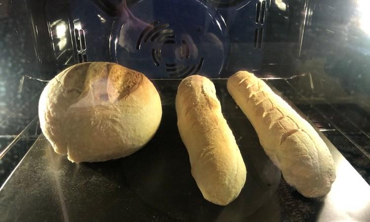 Sourdough in Oven