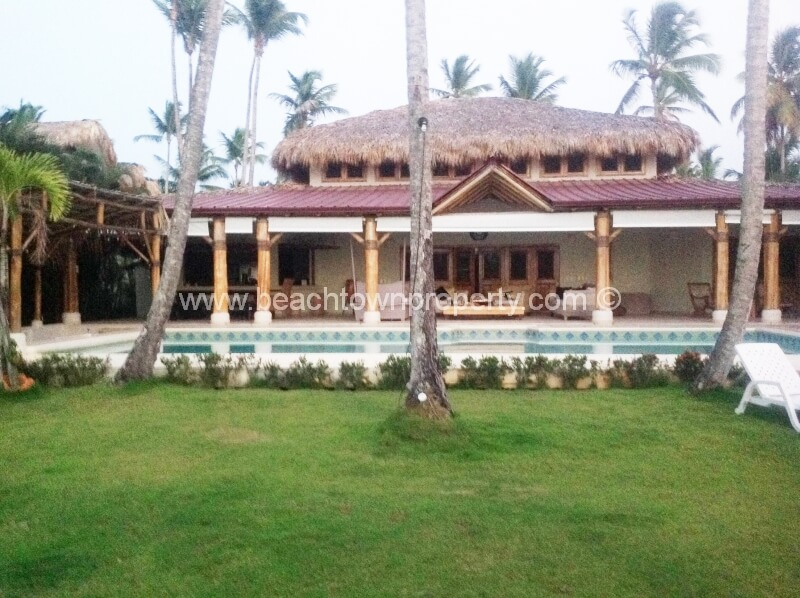 Luxury Beachfront House Las Terrenas Samana Dominican Republic