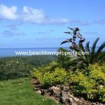 Ocean view Lot in Las Terrenas Samana Dominican Republic