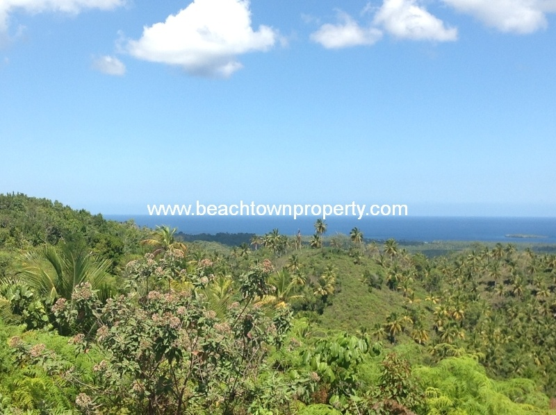 Large piece of development land Las Terrenas Dominican Republic