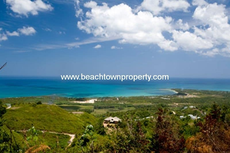 Ocean view Land for sale Las Terrenas Samana Dominican Republic