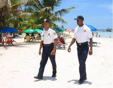 Las Terrenas Dominican Republic Police force