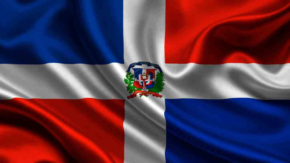 teh flag of the dominican republic