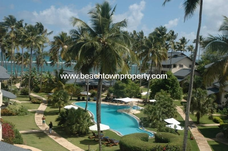 Beachfront Rental Investment Apartment Las Terrenas Dominican Republic