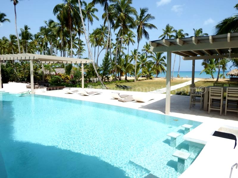 Luxury Beachfront House for sale Coson Dominican Republic