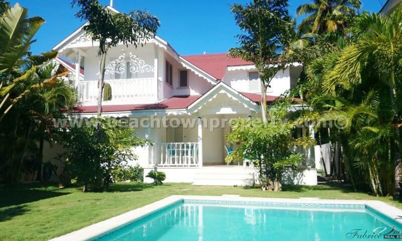 Dominican Republic Villa For Sale Las Terrenas