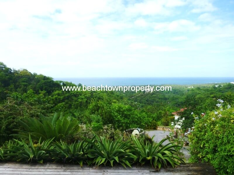 Las Terrenas Ocean View Lot Inside Gated Community