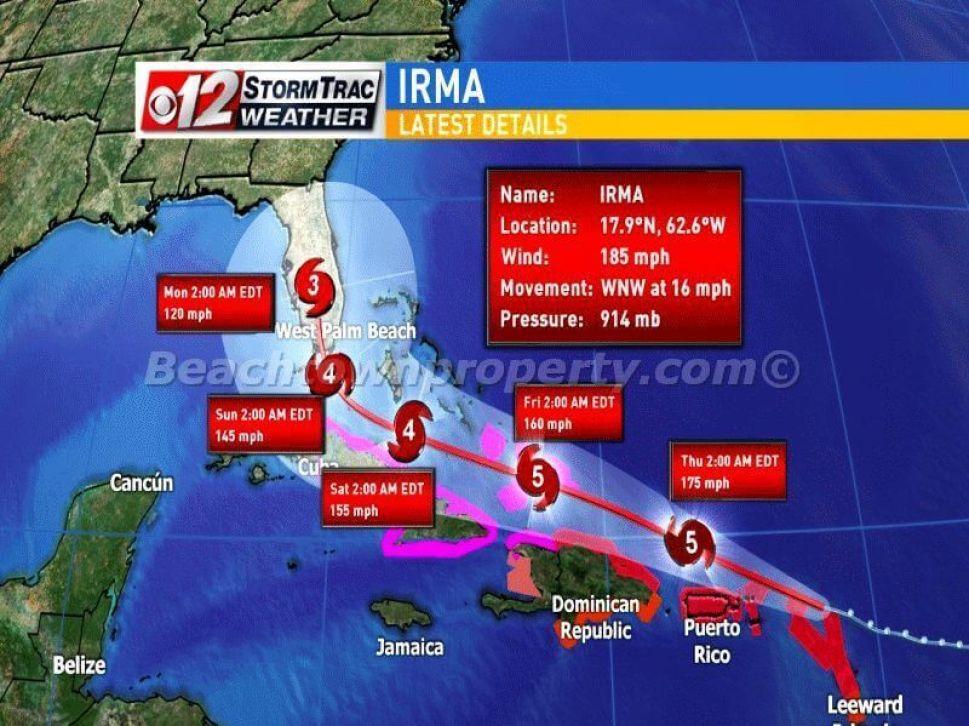 Hurricane Irma Las Terrenas Samana Dominican Republic