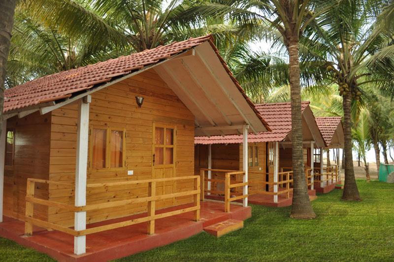 Morjim Hermitage  A Resort in Morjim Beach South Goa