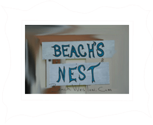 BCh Beach's Nest Framed