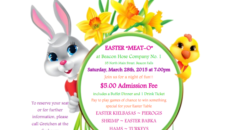 Beacon Hose Meat-O is Back in Time for Easter!