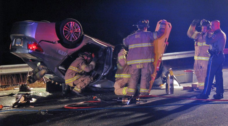 Beacon Hose Responds to Multiple Accidents on Route 8