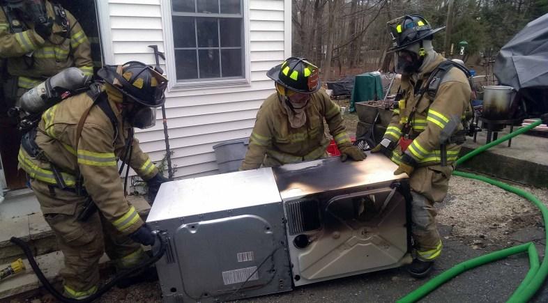 Beacon Hose Responds to Dryer Fire