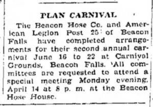 legion carnival april 12 1947