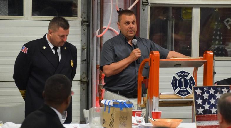 BHC Welcomes Chief Brian DeGeorge, Salutes Chief Jim Trzaski