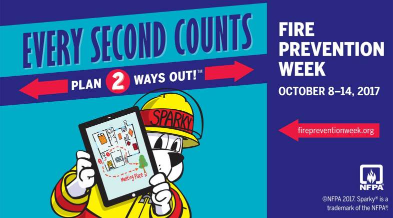 Fire Prevention Week 2017: Open House and Safety Tips