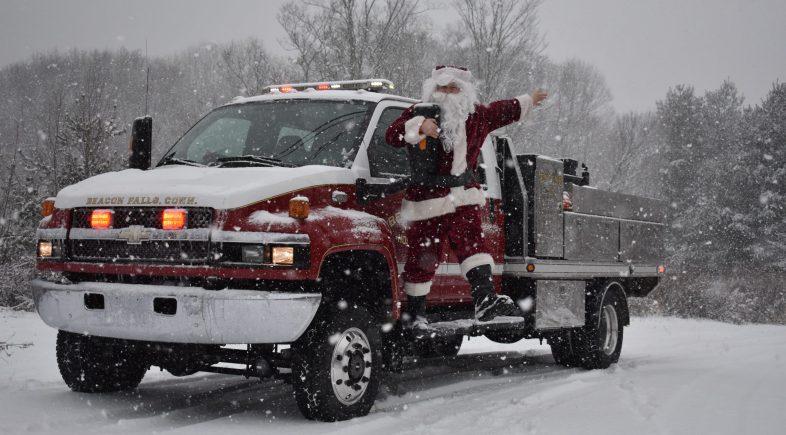 Bring Santa Home, Tree Lighting and Bonfire to Celebrate Season