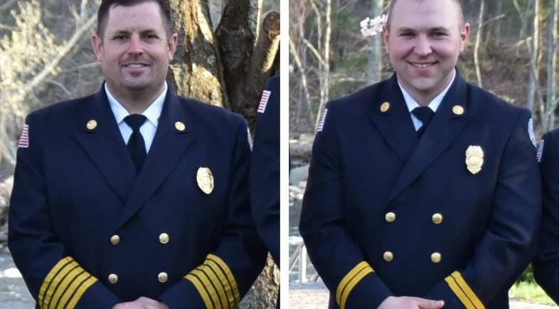 Chief DeGeorge, Captain Brennan Beacon Falls' New Fire Marshals