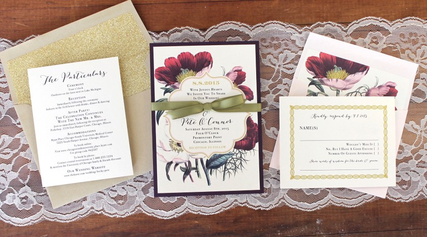What S In A Beacon Lane Bundled Wedding Invite